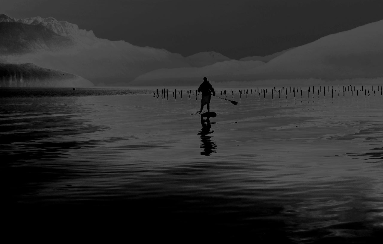 Stand Up Paddle à Sevrier / Lac d'Annecy