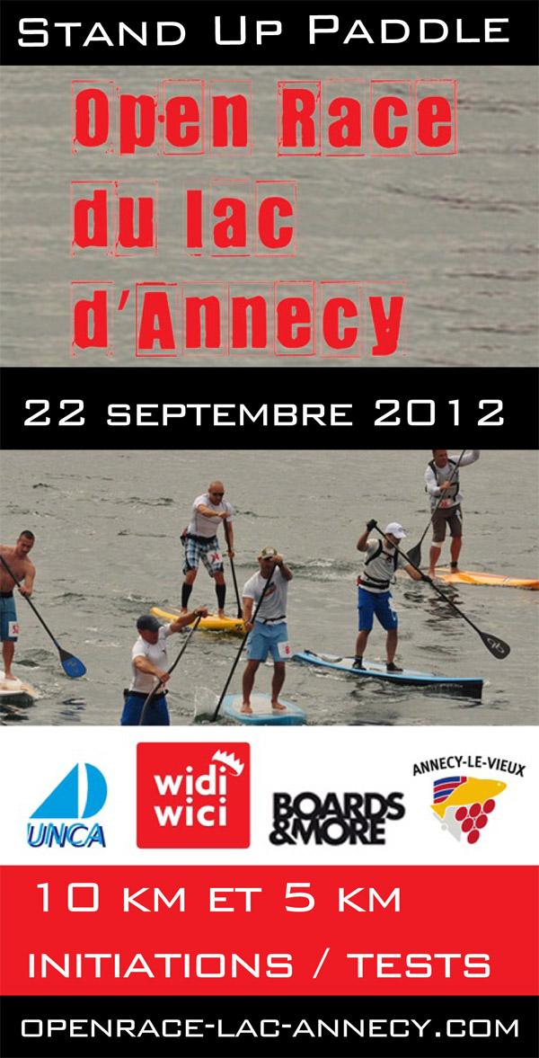 1ère Open Race du lac d'Annecy / 22 sept. 2012