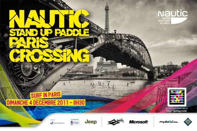 Nautic Stand Up Paddle Crossing
